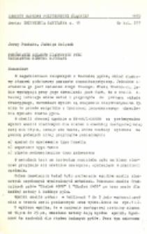 Porównanie składów ziarnowych pyłu uzyskanych różnymi metodami. Komunikat