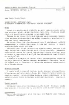 Dobowe stężenia dwutlenku siarki w dzielnicy akademickiej w Gliwicach w okresie wiosennym