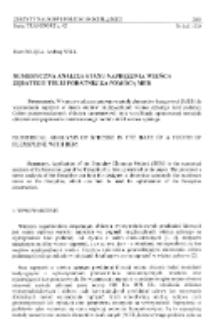 Numeryczna analiza stanu naprężenia wieńca zębatego tulei podatnej za pomocą MEB