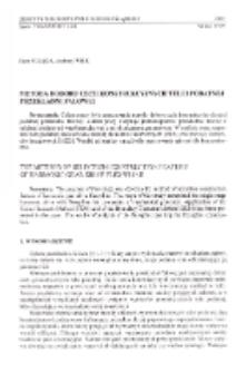 Metoda doboru cech konstrukcyjnych tulei podatnej przekładni falowej