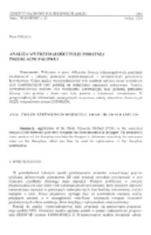 Analiza wytrzymałości tulei podatnej przekładni falowej