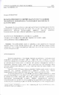 Badania preferencji komunikacyjnych w zakresie transportu zbiorowego na obszarze aglomeracji katowickiej