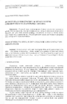 Zużycie stali perlitycznej w styku suchym i smarowanym na stanowisku Amslera