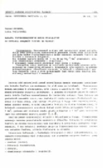 Badania fizykochemicznych metod stosowanych do usuwania związków fosforu ze ścieków