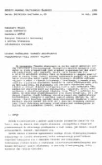 """Badania porównawcze tłumików akustycznych produkowanych przez zakłady """"Klimor"""""""