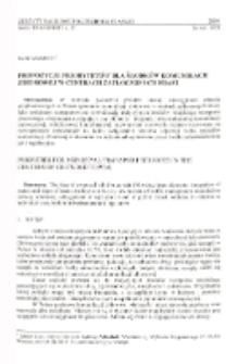 Propozycje priorytetów dla środków komunikacji zbiorowej w centrach zatłoczonych miast