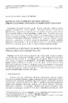 Detekcja jako niezbędny element systemu zmiennoczasowej sygnalizacji świetlnej w miastach