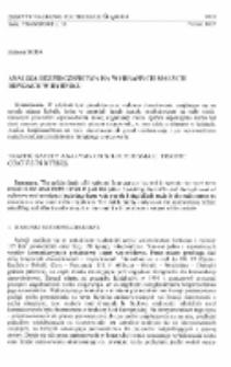 Analiza bezpieczeństwa na wybranych małych rondach w Rybniku