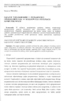 Badanie niezawodności i poprawności oprogramowania w kolejowych systemach komputerowych