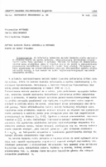 Metoda badania ruchu aerozolu w rejonie wlotu do sondy pyłowej
