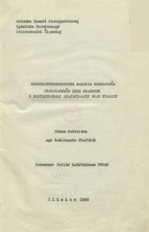 Recenzja rozprawy doktorskiej mgr inż. Danuty Prajsnar pt. Spektrofotometryczne badania kompleksów pierwiastków ziem rzadkich z kompleksonami sulfoftalein oraz ftalein