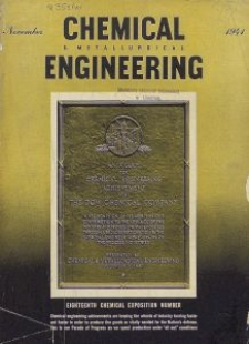 Chemical & Metallurgical Engineering, Vol. 48, No. 11