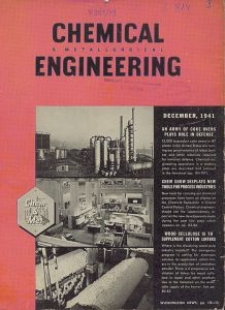 Chemical & Metallurgical Engineering, Vol. 48, No. 12