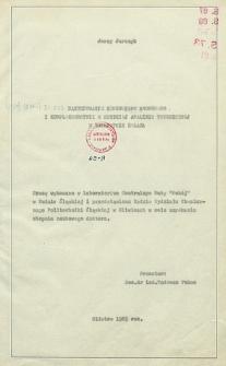Recenzja rozprawy doktorskiej mgra inż. Jerzego Jurczyka pt. Zastosowanie benzoesanu amonowego i kompleksometrii w szybkiej analizie technicznej w hutnictwie żelaza