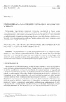 Regionalizacja pasażerskich przewozów kolejowych w Polsce