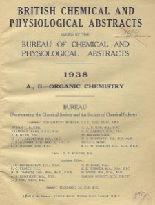 British Chemical and Physiological Abstracts. A. Pure Chemistry and Physiology. II. Organic Chemistry, May