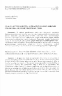 Analiza metrologiczna aspiracyjnej sondy zerowej pyłomierza grawimetrycznego P-10ZA