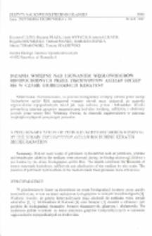 Badania wstępne nad usuwaniem węglowodorów ropopochodnych przez Trichophyton ajelloi szczep R66 w czasie biodegradacji keratyny