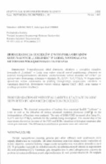 """Biodegradacja odcieków z wysypiska odpadów komunalnych """"Lublinek"""" w Łodzi, wspomagana metodami pogłębionego utleniania"""