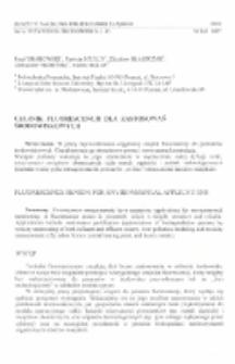 Czujnik fluorescencji dla zastosowań środowiskowych