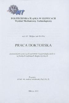 Recenzja rozprawy doktorskiej mgr inż. Małgorzaty Kuchta pt. Zastosowanie sztucznych systemów immunologicznych w wybranych zadaniach diagnostycznych