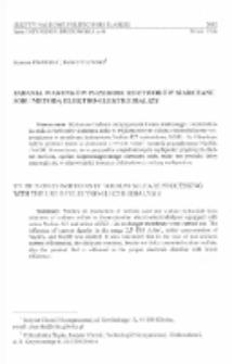 Badania warunków przerobu roztworów siarczanu sodu metodą elektro-elektrodializy