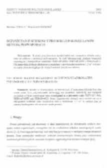 Oczyszczanie ścieków z produkcji poliwęglanów metodą perwaporacji