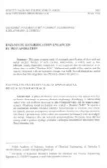 Enzymatic esterification enhanced by pervaporation