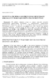 Efektywna technika elektronicznej archiwizacji dokumentów przedsiębiorstwa transportowego