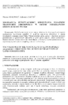 Tolerancja punktualności kursowania pojazdów transportu zbiorowego w ocenie mieszkańców różnych miast Polski