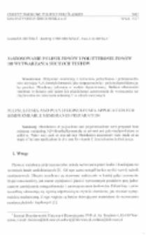 Zastosowanie polisulfonów i polieterosulfonów do wytwarzania suchych testów