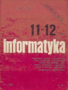 Informatyka Nr 11/12
