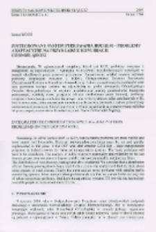 Zintegrowany system sterowania ruchem - problemy adaptacyjne na przykładzie konurbacji górnośląskiej