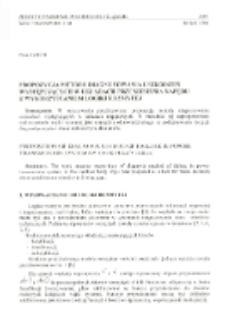 Propozycja metody diagnozowania uszkodzeń występujących w układach przeniesienia napędu z wykorzystaniem logiki rozmytej