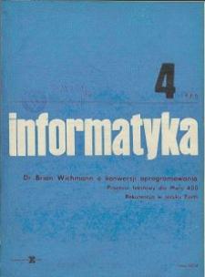 Informatyka Nr 4