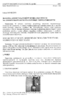 Badania amortyzatorów hydraulicznych na zmodyfikowanym stanowisku indykatorowym