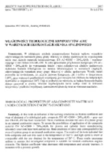 Właściwości tribologiczne kompozytów AIMC w warunkach eksploatacji silnika spalinowego
