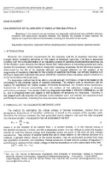 Diagnostics of glass-epoxy insulating materials