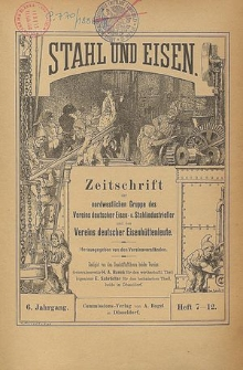 Stahl und Eisen, Jg. 64, Heft 15