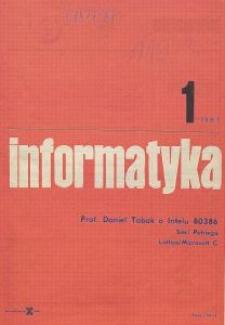 Informatyka Nr 1