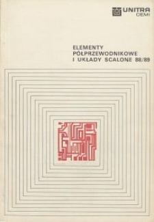 Elementy półprzewodnikowe i układy scalone 88/89
