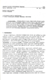 Zastosowanie metody wskaźnikowej w ocenie organizacji procesu produkcji hutniczej
