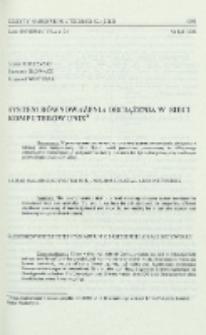 System równoważenia obciążenia w sieci komputerów Unix