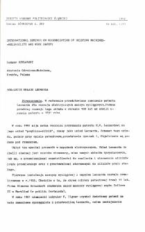 100-lecie układu Leonarda