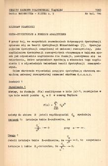 Ultra-dystrybucje a funkcje analityczne