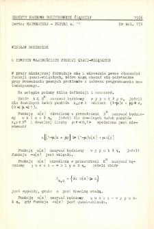 O pewnych własnościach funkcji quasi-wklęsłych