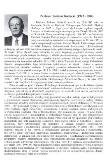 Profesor Tadeusz Rodacki (1942-2004)
