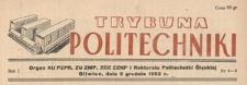 Trybuna Politechniki, R. 1, Nr 1