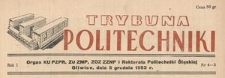 Trybuna Politechniki, R. 4, Nr 3-4 (40-41)
