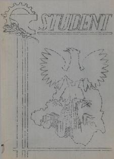Student : czasopismo Politechniki Śląskiej, R. 1, Nr 1
